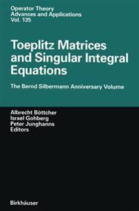 Toeplitz Matrices and Singular Integral Equations