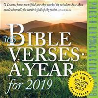 365 Bible Verses-a-year 2019 Calendar