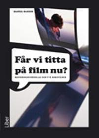 Får vi titta på film nu DVD/Cd kop.underlag