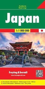 Japan, Autokarte 1:1.000.000