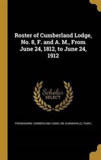 ROSTER OF CUMBERLAND LODGE NO