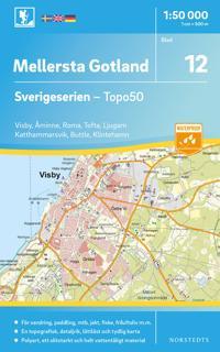 Visby Kartta Kunto Hyva 4 00 Antikvariaatti Net