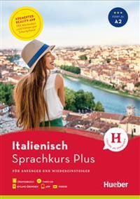 Hueber Sprachkurs Plus Italienisch. Buch mit MP3-CD, Onlineübungen, App und Videos