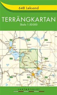648 Leksand Terrängkartan : 1:50000