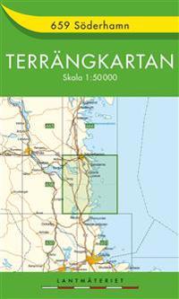 659 Söderhamn Terrängkartan : 1:50000
