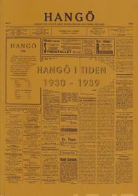 Hangö i tiden 1930-1939