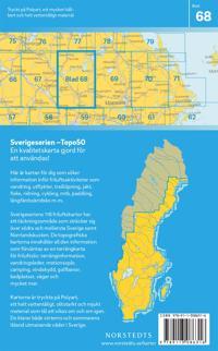 68 Sala Sverigeserien Topo50 : Skala 1:50 000