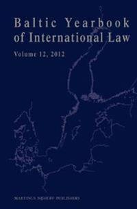 Baltic Yearbook of International Law 2012