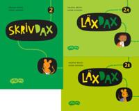 SkrivDax/LäxDax 2 elevpaket läsår, 1ex SkrivDax & 1ex LäxDax A & B