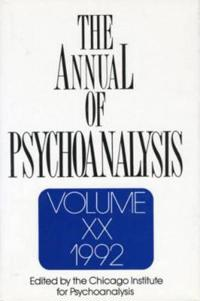 The Annual of Psychoanalysis/1992