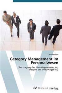 Category Management Im Personalwesen