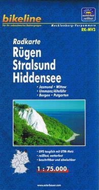 Rugen/Stralsund/Hiddensee Cycle Map GPS