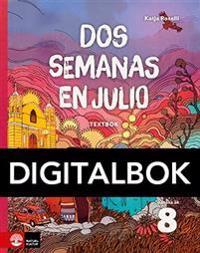 Dos semanas en julio 8 Textbok Digital - Katja Roselli pdf epub