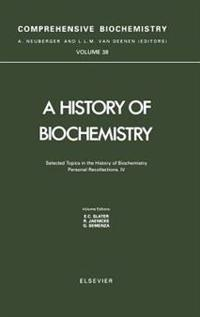 A History of Biochemistry