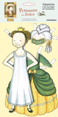 Klippdocka Freesia : Prinsessor och drakar