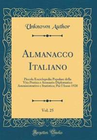 Almanacco Italiano, Vol. 25