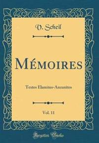 Memoires, Vol. 11