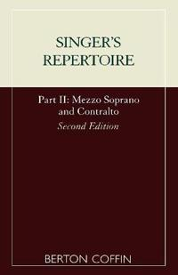 The Singer's Repertoire, Part II