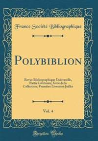 Polybiblion, Vol. 4