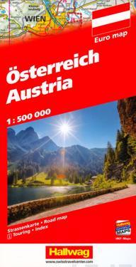 Österreich Strassenkarte 1 : 500 000
