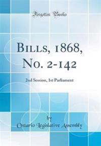 Bills, 1868, No. 2-142