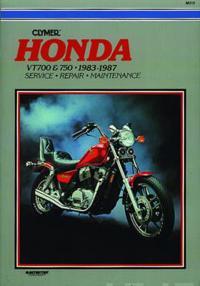 Honda Vt700 and 750, 1983-1987