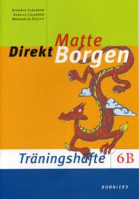 Matte Direkt Borgen Träningshäfte 6B (5-pack) - Synnöve Carlsson, Gunilla Liljegren, Margareta Picetti pdf epub