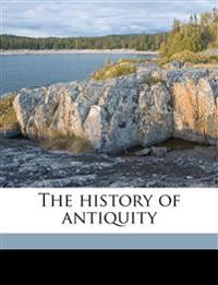 The history of antiquity Volume 3