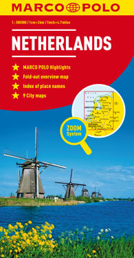 Marco Polo Map Netherlands