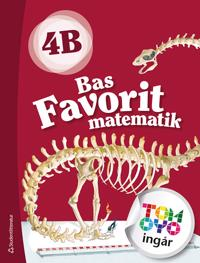 Bas Favorit matematik 4B Elevpaket - Digitalt + Tryckt