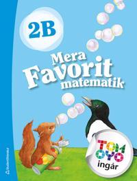 Mera Favorit matematik 2B Elevpaket - Digitalt + Tryckt