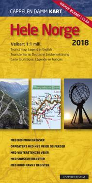 Hele Norge; veikart -  pdf epub