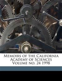 Memoirs of the California Academy of Sciences Volume no. 24 1998