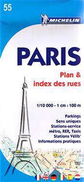 Paris PlanIndex des Rues Map
