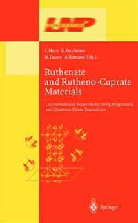 Ruthenate and Rutheno-Cuprate Materials