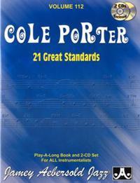 Jamey Aebersold Jazz -- Cole Porter, Vol 112: 21 Great Standards, Book & 2 CDs