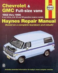 Chevrolet and Gmc Full-size Vans 1968 Thru 1996