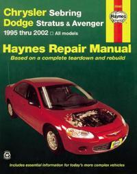 Chrysler Sebring, Dodge Stratus & Avenger Automotive Repair Manual, 1995 thur 2006