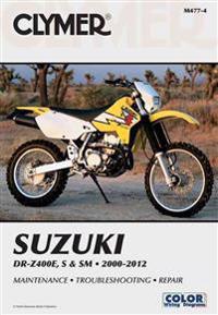 Suzuki DR-Z400E, S & SM 2000-2012