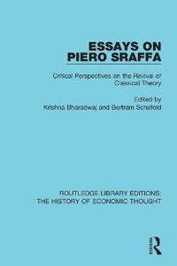 Essays on Piero Sraffa