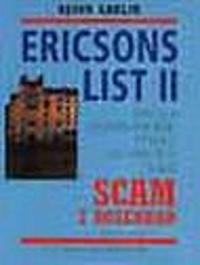ERICSONS LIST II - SCAM i Rosenbad