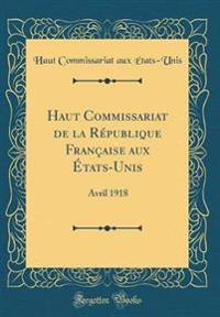 Haut Commissariat de la République Française aux États-Unis