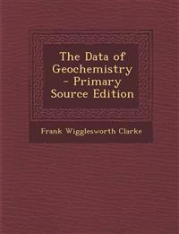 The Data of Geochemistry