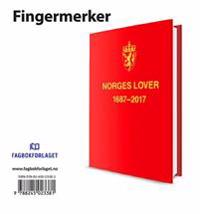 Norges Lover 2017. Fingermerker