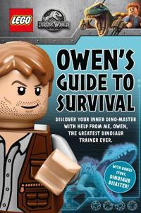 Lego (r) jurassic world: owens guide to survival plus dinosaur disaster!