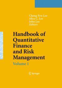 Handbook of Quantitative Finance and Risk Management