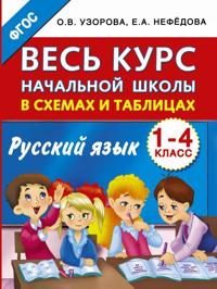 Ves kurs nachalnoj shkoly v skhemakh i tablitsakh. Russkij jazyk. 1-4-j klassy