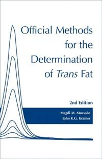 Official Methods for Determination of Trans Fat
