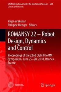 Romansy - Robot Design, Dynamics and Control