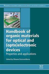 Handbook of Organic Materials for Optical and Optoelectronic Devices